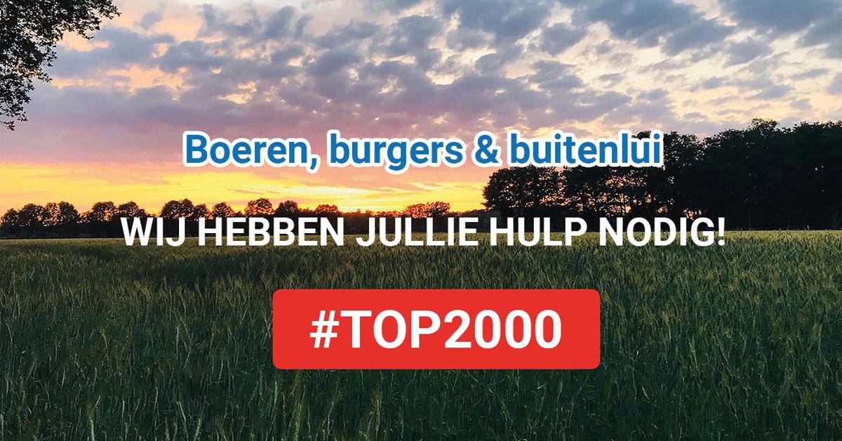 Ode aan de boer | Top 2000 actie Team Agro NL